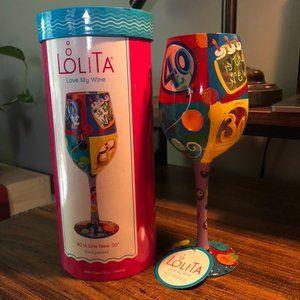 Lolita Wine Glass - 40th Birthday Gift